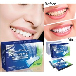 Wholesale Teeth Whitening Strips Wholesalers - 360 Degree Advanced Teeth Whitening Strips Dental Whitening Kit Enamel White Whitestrips 28 pcs box