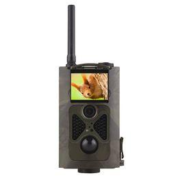 Wholesale Hunting Camera 12mp - HC-500G 940NM Hunting Camera 3G GPRS MMS SMTP SMS 12MP 1080P 120 Degrees PIR Sensor Sight Angle Wildlife Trail Camera