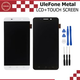 Wholesale mobile lcd touch screen - Wholesale- UleFone Metal LCD Display and Touch Screen Assembly Repair Part 5.0 inch Mobile For UleFone Metal Android 6.0 MTK6753 Octa Core