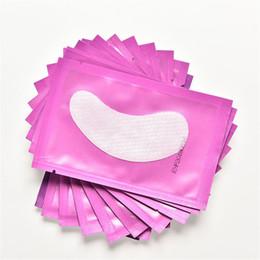 Canada 50 paires New Paper Patches Cils Sous Eye Pads Cils Extension de Cils Patchs de Papier Astuces pour les Yeux Autocollant Wraps Make Up Outils Offre