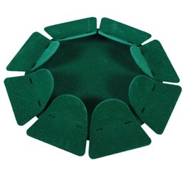 Argentina Al por mayor-All-Direction Putting Cup Golf Practice Hole Training Aid Indoor / Outdoor Color verde cheap putting green golf training aids Suministro