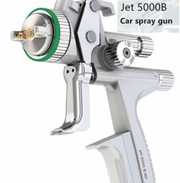 Wholesale Hvlp Spray - Wholesale and retail Jet 5000B professional Graity spray gun with 1.3mm nozzle HVLP car paint gun, painted high efficiency 20170107# 2017011