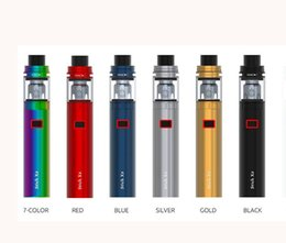 Wholesale E Cigarette X8 - SMOK Stick X8 Clone Starter Kits With 3000mah Battery 4ml TFV8 X-Baby Top Airflow System Portable pen style Vaporizer STICK V8 E Cigarette