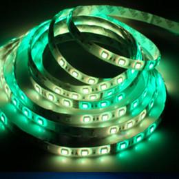 tira led 3528 blanco frio Rebajas Súper brillante RGB 5050 12 v tiras de led Carpa colorida impermeable luz led 54 leds / m 5 m / rollo vacaciones navideñas led luz publicitaria