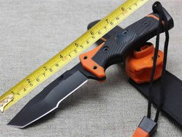 Wholesale Survival Knife Material - BEAR survival knife explore the wilderness (T), 420 blade material hardness 57 HRC