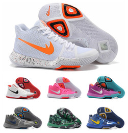 Wholesale Yellow Kids Sneakers - 2017 New Kyrie 3 III Basketball Shoes Men Women Kids Youth High Quality Outdoor Kyrie Lrving 3 Training Sneakers Sport Shoes Size: EUR 36-46