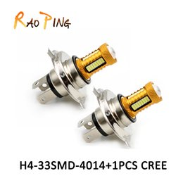 Wholesale Motorbike Wholesalers Accessories - H4 led Fog Signal Tail Driving Car Light Lamp Bulb 12V with lens Motorbike Brake Lights automobiles accessories