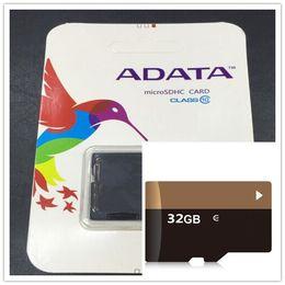Wholesale Sd Memory Adata - 100% Real ADATA 2GB 4GB 8GB 16GB 32GB 64GB Class10 Micro SD TF Memory SDHC Card SD Adapter Retail Package