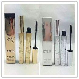 Wholesale Free Gifts Tube - hot selling NEW Makeup add black long and dense alice mscara Gold tube   silver tube dhl Free shipping+gift