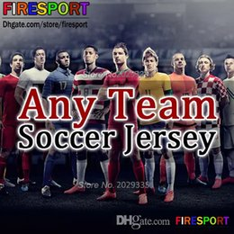Wholesale Women Training Shorts - 2017 Any Team Football Shirts Man kids women tracksuits jacket sweater Training Suits Full Set With Socks Soccer Jerseys Thailand Quality