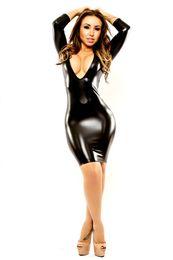 Wholesale Sexy Custom Lingerie - Sexy lingerie Siamese leather uniform temptation one generation