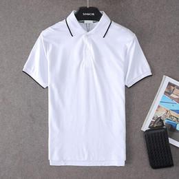 Wholesale Men S Polo Tshirt - Tiger paris brand t shirt men short sleeve cotton polo shirt 2017 fashion tigre head tshirt homme slim fit