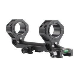 Wholesale Quick Release Scope Mounts - 2-0028 US Local Super Precision Quick Release 25mm 30mm Rifle Scope Mount W  Spirit Level With QD Mount