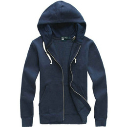 Wholesale Mens Letter Cardigan - 2017 Hot Mens polo Hoodies and Sweatshirts autumn winter casual with a hood sport jacket men's hoodies Free Shipping