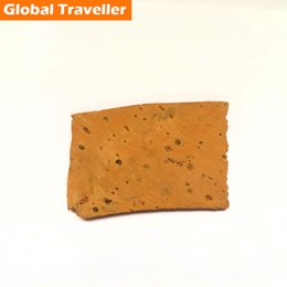 Wholesale Natural Wood Pieces - Wholesale- 1 piece 10cm2(around) thickness 0.8mm Portugal natural saxophone key button wood mat saxophone key cork mat saxophone cork