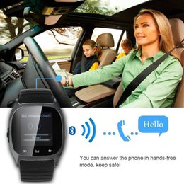 Wholesale High Costs - 2017 High quality cost-effective, fashion Bluetooth watches, car Bluetooth hands-free smart Bluetooth watches, smart watches M26