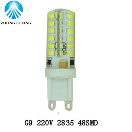 Wholesale E27 Led 9w Crystal - Lights led lamps G4 3W 12V G9 7W 9W 220V-240V 12W Replace for Droplight Chandelier Crystal Lamp Warm Cold White lampada led
