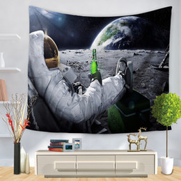 Wholesale decorative hang wall - Galaxy Tapestry Scenery Stars In The Universe Decorative Tapestry Wall Hanging Printed Dorm Tapestry Home Decor Beach Towel Blanket
