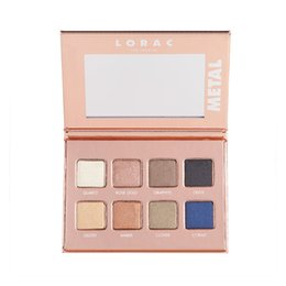 Wholesale palette metal - 2017 Lorac Pro Metal 8 Shades Eye Shadow Palette New Palette vs Lorac Mega Pro 3 Los Angeles Palette Limited Edition Eyeshadow 240pcs