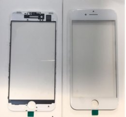 Wholesale Wholesale Apple Products China - New Products on China market OEM Front Outer Screen Glass Len + Frame Bezel + 250um OCA For iPhone 7 Plus