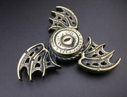 Wholesale Animal Bat Toys - bat Hand Spinner Metal Ultra Durable Hand Spinner EDC Fidget Spinner Toy Fingertip Gyro for For ADD, ADHD, Anxiety High quality