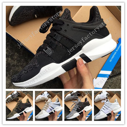 Wholesale Brand New Equipment - Cheap New Three stripes White Mens Womens running support 93 EQT IIII EQUIPMENT orange shoes Brand Shoes High quality size 36-45 US 5.5-11