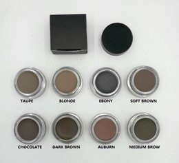 Wholesale Oem Ebony - Pomade Medium Brown Waterproof Makeup Eyebrow 4g Blonde Chocolate Dark Brown Ebony Auburn Medium Brown TALPE free OEM service