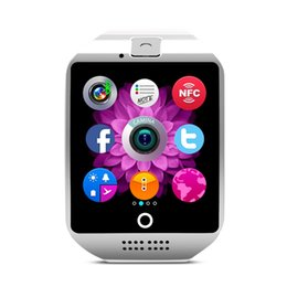Wholesale Fitness Prices - Q18 smart watches Wholesale prices Bluetooth Smartwatch with Camera Support Tf sim Card Slot Bluetooth NFC Connection