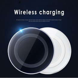 Wholesale Qi Standard - Portable Chargers Samsung Charger Wireless Phone Charger Qi Standard for iphone 8 iphone x samsung s8 phones cheapest 2018