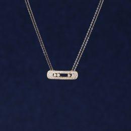 Wholesale Energy Necklace Stones - Fashion Jewelry Pendants 2015 Fashion Luxury Mother Pendant White Move Stone Wedding Pendant Long Chain New Energy Necklace For Woman