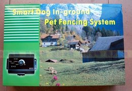 Wholesale Ground Pet Fence Wire - For 2 dogs waterproof Electronic Smart Dog In-ground Pet Fencing System wireless pet fence dog trainning system supplies