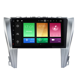 Wholesale Toyota Camry Stereos - 2G RAM Octa-core Android 6.0.1 Double Din Car DVD For Toyota Camry 2015 GPS Receiver Radio RDS 1080P 4K Video WIFI 4G Google USB AUX BT 4.0
