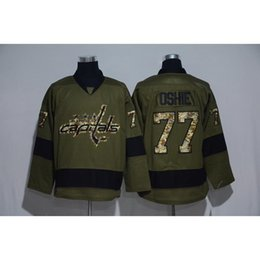 Wholesale Cheapest Brand Winter - Capital #77 Oshie Camo Hockey Jerseys Cheapest Hockey Wears Men Camo Capital Jerseys 2017 Brand Winter Ice Jerseys Hot Sale