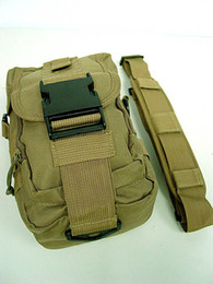 Wholesale Woodland Molle - Wholesale- Molle sports bag Shoulder Bag Tools Mag Drop Pouch Coyote Brown ACU OD Camo Woodland