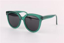 Wholesale Trend Model Sunglasses - fashion Trend brand star models retro round face transparent personalized Fashion GM sunglasses polarization women's sunglasses