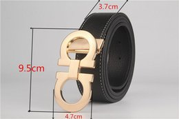 Wholesale Alloy Wells - TOP Direct Selling Belts 110cm 115cm 120cm Blue 2017 Sell Well free Shipping New Fashion Men Feragamo Genuine Belt,belt for And