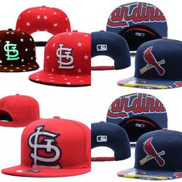 Wholesale St Louis Cardinals Hip Hop MLB Snapback Baseball Caps STL Hats MLB Unisex Sports Women Casquette Men Casual Headware Mix Order Fast Shipping