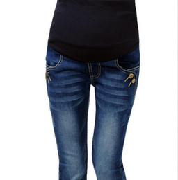 Wholesale Maternity Denim Jeans - Denim Maternity Jeans Pants For Pregnant Women Plus Size XXL Clothes Pregnancy Clothing Maternidade Pantalones Embarazada
