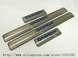 Wholesale Car Pedal Stainless - For Nissan Qashqai Door Sill Scuff Plate Stainless Steel Welcome Pedal Car Styling For Nissan Qashqai Door Sill 2015 2016 4pcs