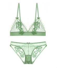 Wholesale Lingerie Set High Quality - High Quality Seductive Sexy Lingerie Women Lace Bra Panty Set Underwear