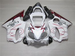 Wholesale Corona Fairings Red - New Motorcycle Fairings Fit For Honda CBR600 F4i 2001 2002 2003 Year 01 02 03 ABS Injection Fairing Kit Cowling red white black corona