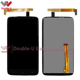 Wholesale One X Display - 2pcs lot For HTC ONE X Full Lcd Display and Touch Screen glass panel Digitizer Without Frame with Free Shipping