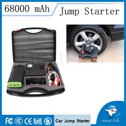 Wholesale Start Charger - Wholesale- Fashion Design High Quality Jump Starter Car Jump Starter Power Bank Car Charger for Starting DIESElLand GASOLINE Car