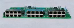 Wholesale Embedded Module - 2017 hot embedded system data exchange 24 port gigabit ethernet switch pcba module DC 5-15V wide range input voltage