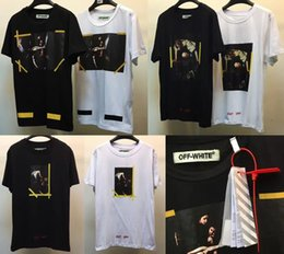 Wholesale Off White Ladies Shirts - Off White T shirt Men Women 1:1 High Quality Religion Jesus Our Lady Off White Abloh Virgil Tees T-shirt Off White T shirt