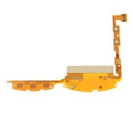 Teléfono flex cinta online-Botón de encendido del teléfono móvil Interruptor de encendido / apagado Flex Cable Ribbon para Sony Ericsson Xperia Neo MT15 Reemplazo de alta calidad original Envío gratuito