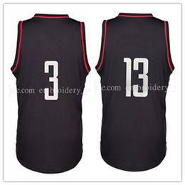 Wholesale New Chris Paul Jersey Stitched Blake James Harden Basketball Jerseys Embroidery Logos