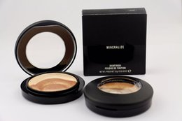 Wholesale Mineralize Skinfinish Foundation - HOT NEW Makeup Skinfinish Face Powder Mineralize Plus Foundation 10g High quality +DHL Shipping