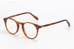 Wholesale Glass Read - Wholesale- Vintage optical glasses Oliver Peoples OV5256 sir o'malley Myopia reading Glasses Frame Men Women Retro Eyeglasses frame