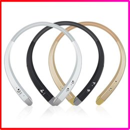 Wholesale Bluetooth Headset Smartphone - New HBS-913 HBS913 Tone Sport Bluetooth Headphone Headsets Neckband Stereo Earphone with Microphone Hands Free Headset for Smartphone